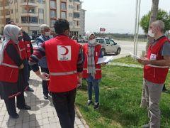 Türk Kızılay'ı Yeşilyurt Şubesi ihtiyaç sahiplerini unutmuyor
