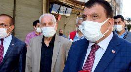 Başkan Gürkan altyapı çalışmalarını inceledi