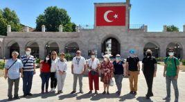 Gaziantep'li turist rehberlerinden Malatya ziyareti