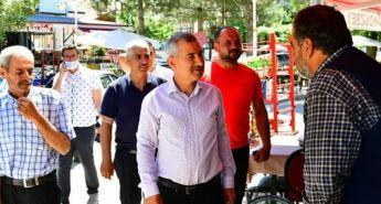 Başkan Çınar, esnafın talepleri dinledi