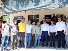 Başkan Gürkan, Elmalı Mahallesi'ni ziyaret etti