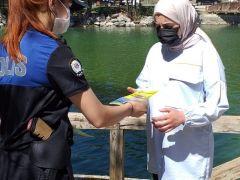 Polis ekiplerinden boğulma vakalarına karşı bilgilendirme