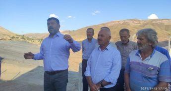 Veli Ağbaba Erkenek mahallesindeki gölet alanını yeniden gündeme getirdi