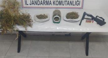 Malatya'da 2 kilo kubar esrar ele geçirildi