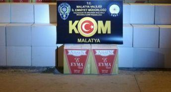 Malatya'da kaçakçılara göz açtırılmıyor