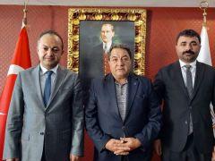 Milletvekili Fendoğlu'ndan Baro Başkanı Demez'e hayırlı olsun ziyareti