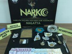 Uyuşturucu satıcılarına 4 ayrı operasyon: 3 tutuklama