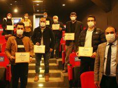 Sakarya'da arıcılar sertifikalandı